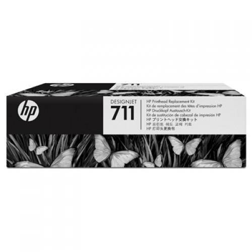 HP C1Q10A No. 711 Designjet Printhead Replacement Kit