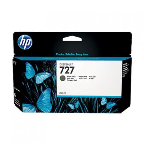 HP C1Q12A No.727 Ink Cartridge Matte Black - 300ml