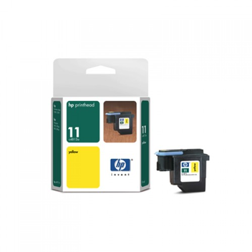 HP C4813A No.11 Yellow Printhead