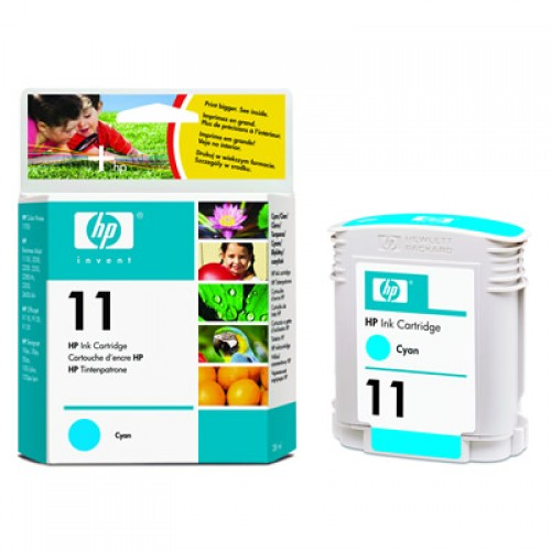 HP C4836A No.11 Cyan Ink 28ml