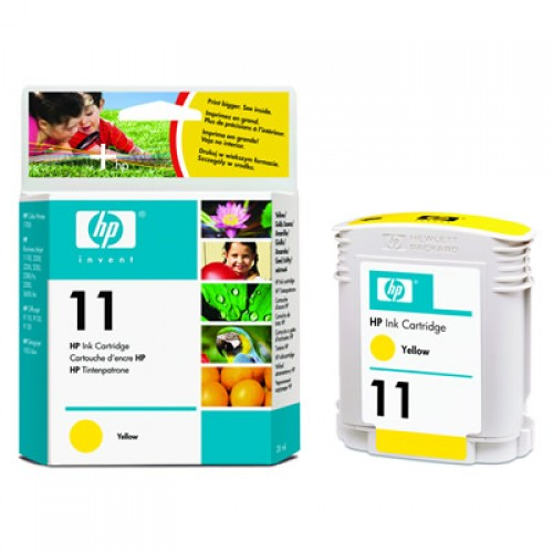 HP C4838A No.11 Yellow Ink28ml