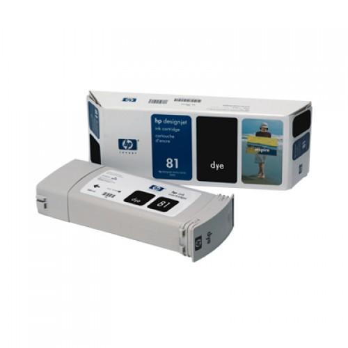 HP C4930A No. 81 Black Ink Cartridge 680ml for HP Designjet 5000 & 5500