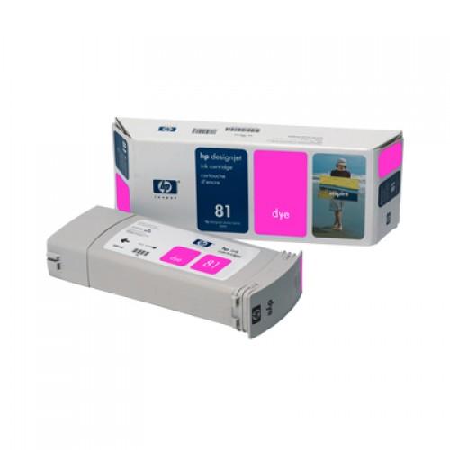 HP C4932A No. 81 Magenta Ink Cartridge 680ml for HP Designjet 5000 & 5500