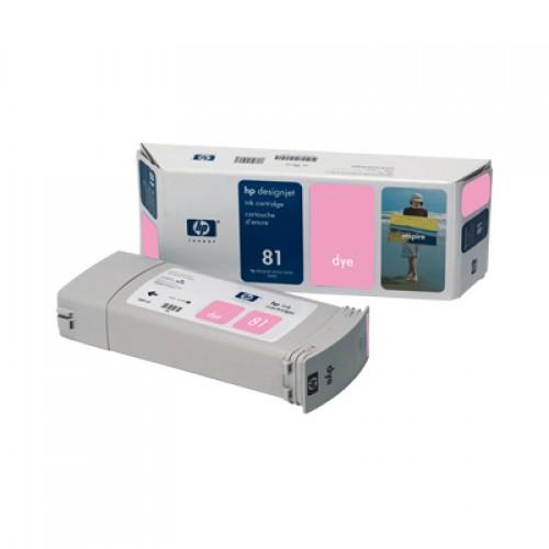 HP C4935A No. 81  Light Magenta Ink Cartridge 680ml for HP Designjet 5000 & 5500