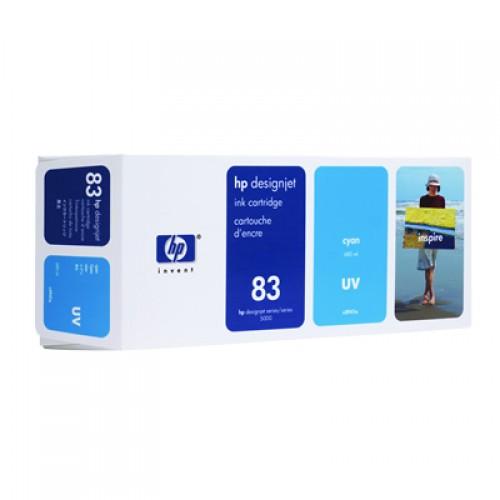 HP 83 C4941A Cyan Ink Cartridge 680ml