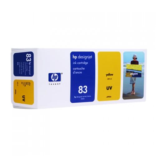 HP 83 C4943A Yellow Ink Cartridge 680ml