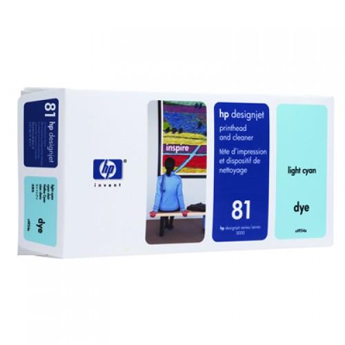 HP C4954A Light Cyan Print Head + Cleaner for HP Designjet 5000 & 5500