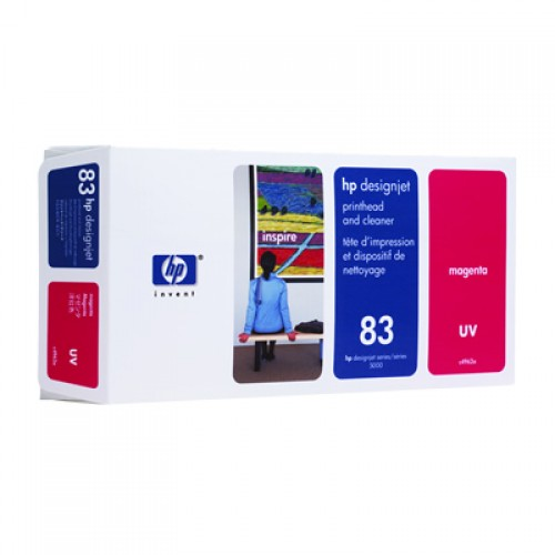 HP 83 C4962A Magenta Print Head + Cleaner