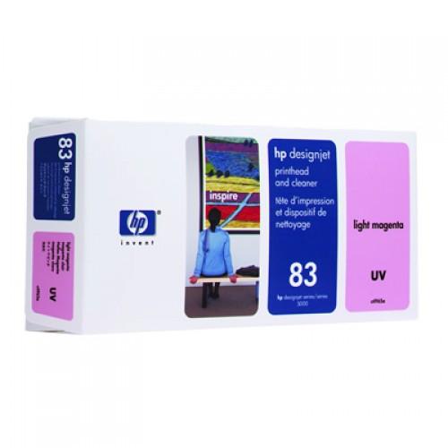 HP 83 C4965A LightMagenta Print Head + Cleaner