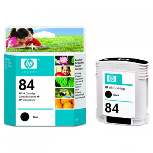 HP C5016A No.84 Black Ink Cartridge 69ml for HP Designjet 10ps, 120, 130, 20ps, 30, 50ps & 90