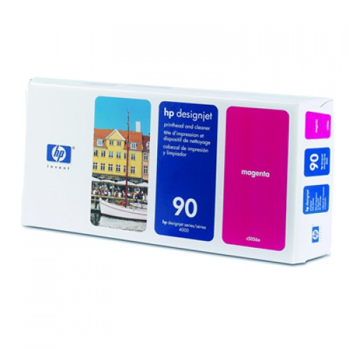 HP C5056A Magenta Print Head + Cleaner for HP Designjet 4000, 4020, 4500, 4520 4500 MFP & 4520 MFP