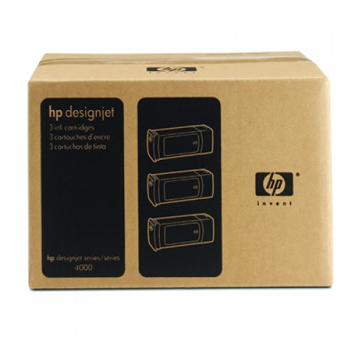 HP 90 C5084A Magenta Ink Triple Pack x 400ml
