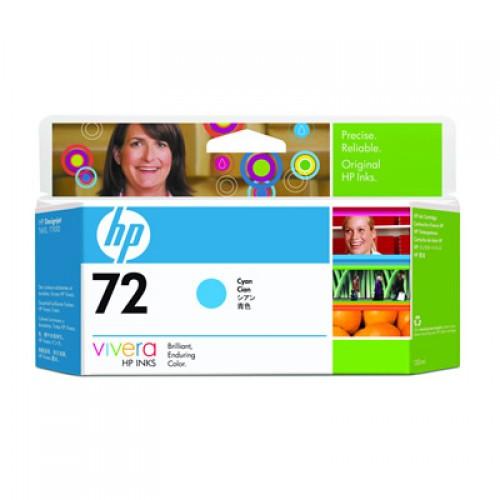 HP 72 C9371A Cyan Ink Cartridge 130ml