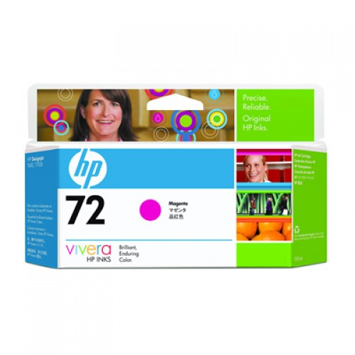 HP 72 C9372A Magenta Ink Cartridge 130ml