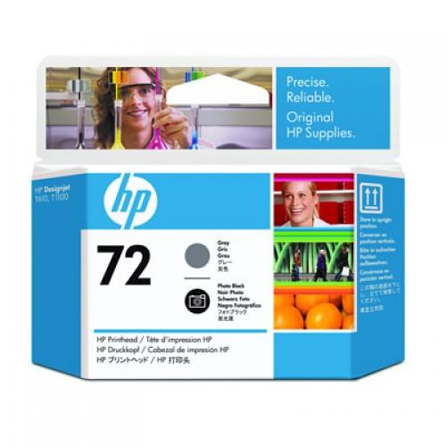 HP 72 C9380A Dual Col. Printhead Grey & Photo Black