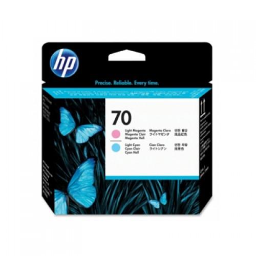 HP 70 C9405A Dual Col. Printhead Light Cyan & Light Magenta for HP Designjet Z2100, Z3100, Z3200 & Z5200