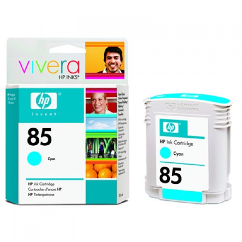 HP 85 C9425A Cyan Ink Cartridge 28ml
