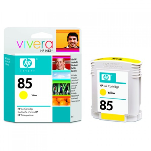 HP 85 C9427A Yellow Ink Cartridge 69ml