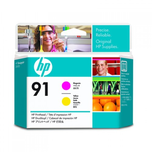 HP 91 C9461A Dual Col. Printhead Magenta & Yellow for HP Designjet Z6100