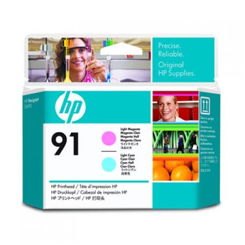 HP 91 C9462A Dual Col. Printhead Light Magenta & Light Cyan for HP Designjet Z6100