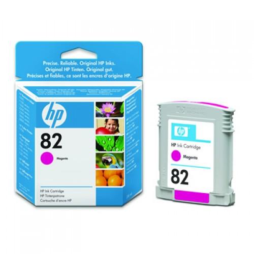 HP No. 82 Dye Ink Cartridge Magenta 28ml CH567A for HP Designjet 510