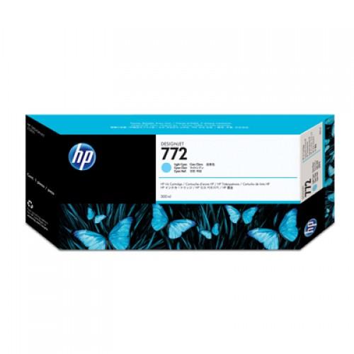 HP 772 CN632A Light Cyan Ink Cartridge 300ml for HP Designjet Z5200