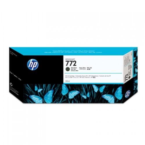 HP 772 CN635A Matte Black Ink Cartridge 300ml for HP Designjet Z5200 & Z5400