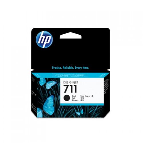 HP CZ129A No. 711 Black Ink Cartridge 38ml