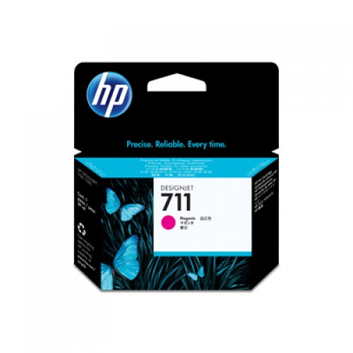 HP CZ131A No. 711 Magenta Ink Cartridge - 29ml