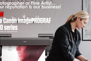 Canon's new ImagePROGRAF PRO printers could be a godsend for graphic designers, photographic studios and many more buyers