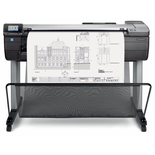 "HP Designjet T830 MFP Printer, Scanner & Copier 36"" A0 CAD & General Purpose F9A30A"