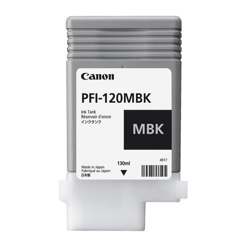 Canon PFI-120MBK Matte Black 130ml Ink Tank 2884C001AA