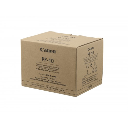 Canon Printhead PF-10  Will fit Pro 1000, Pro 2000, Pro 4000, Pro 6000 Printers